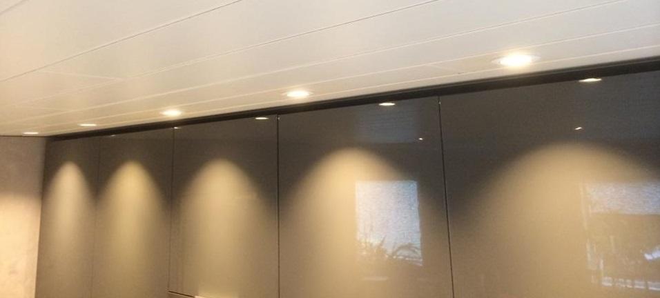 LED Downlights kjøkken 4