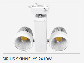Relatert Sirius Skinnelys 2x10W