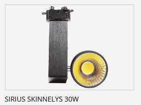 Relatert Sirius Skinnelys 30W