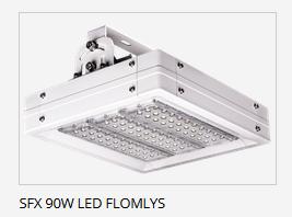 LED flomlys 90w